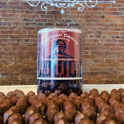 Espresso chocolate domes - Rabble-Rouser Chocolate & Craft
