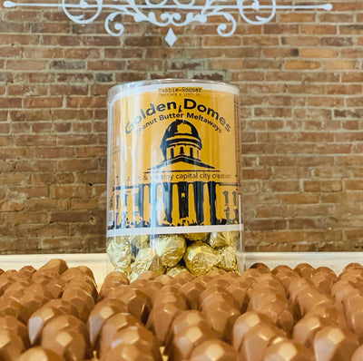 Vermont's Best Peanut butter milk chocolate domes by Rabble-Rouser. Available at rabblerouser.net