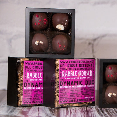 Dynamic Duo Truffle Box - Rabble-Rouser Chocolate & Craft
