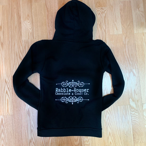 Vermont's Best Rabble-Rouser Zip Up Hoodie by Nutty Steph's. Available at nuttystephs.com