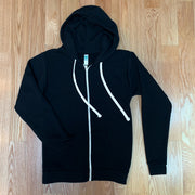 Rabble-Rouser Zip-Up Hoodie - Rabble-Rouser Chocolate & Craft