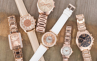Limited Edition Rose Gold Watches