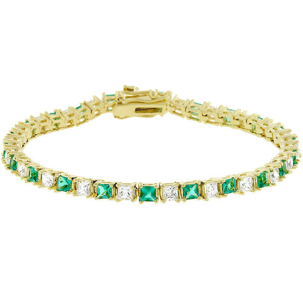 Irish Isle Tennis Bracelet