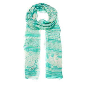 Michelle Scarf in Mint