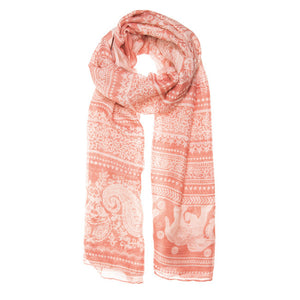 Michelle Scarf in Peach