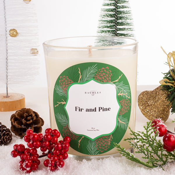 Fir and Pine 18 oz Candle