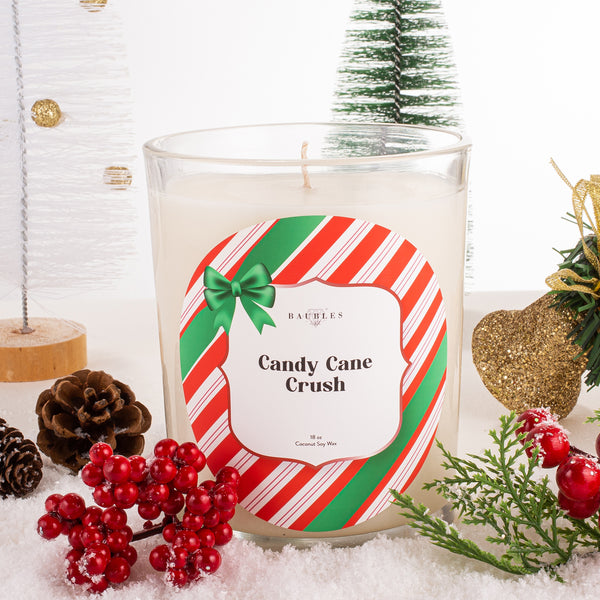 Candy Cane Crush 18 oz Candle