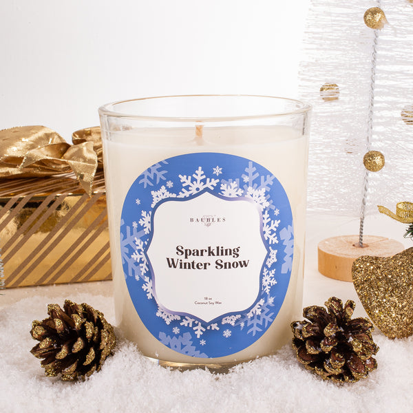 Sparkling Winter Snow 18 oz Candle