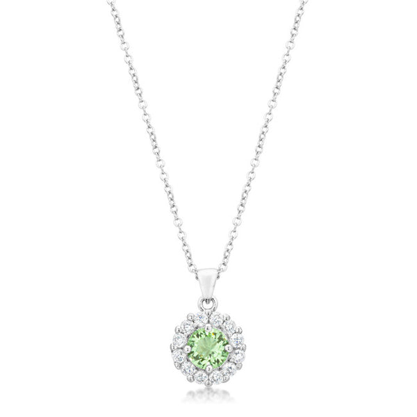 Bella Bridal Pendant in Peridot