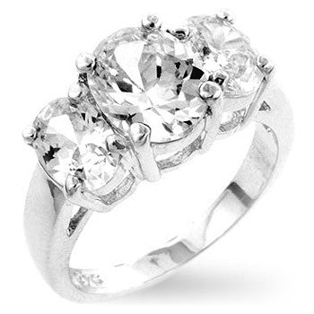 Chloe Ann Triplet Engagement Ring