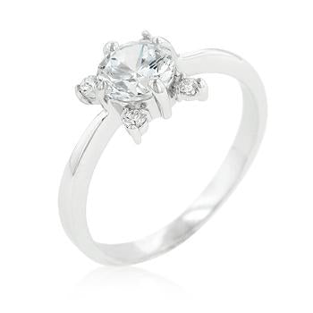5-Stone Petite Engagement Ring