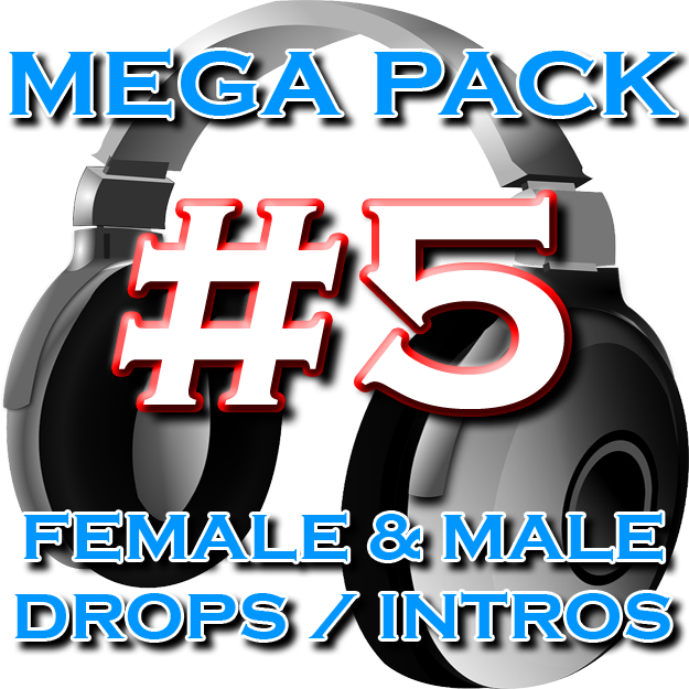 Mega Pack #5 - 10 DJ Drops