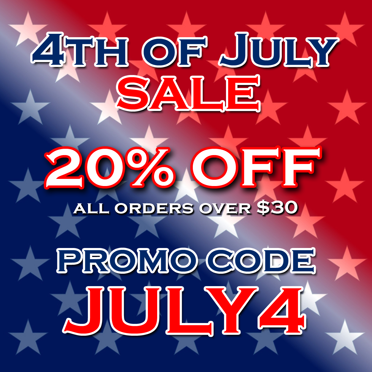 DJ Drops 24/7 - 4th of July Sale 2017