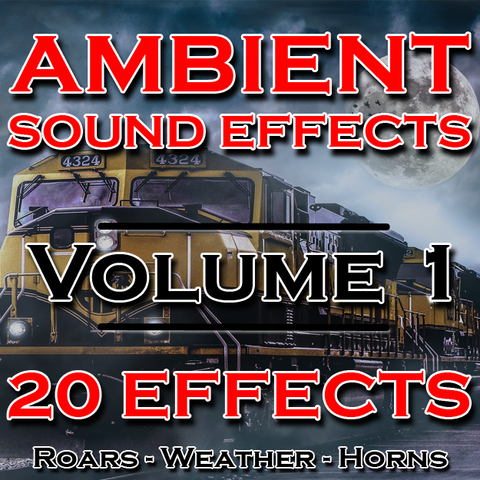 Ambient Sound Effects: Weather, Horns, Animal Roars
