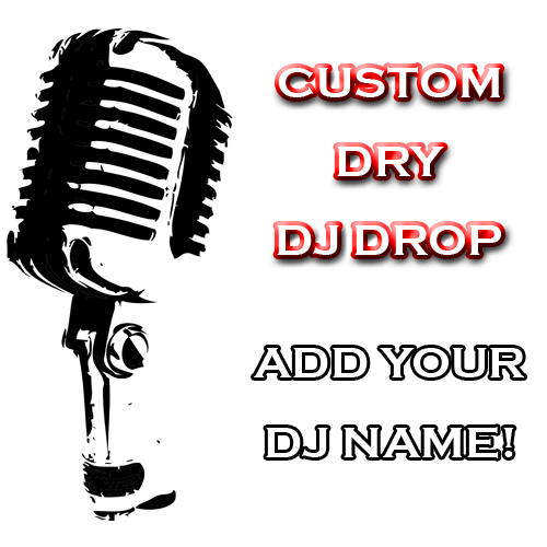 Custom Dry Drop - Number 1 DJ