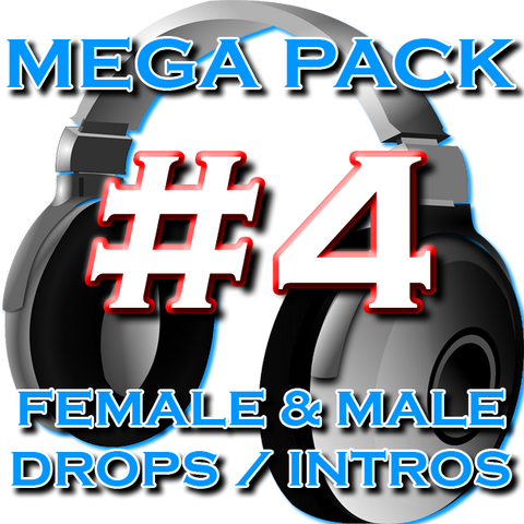 DJ Drops 24/7 - Mega Pack #4