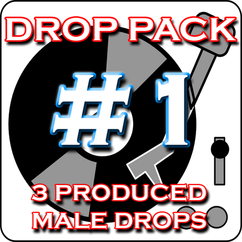 Custom DJ Drop Pack - Produced Drop Pack #1 - Echo