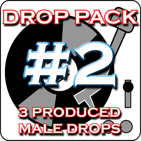 Custom DJ Drop Pack - Produced Drop Pack #2 - Chopper