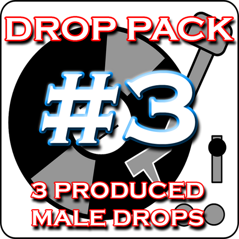 Custom DJ Drop Pack - Produced Drop Pack #3 - Party Up