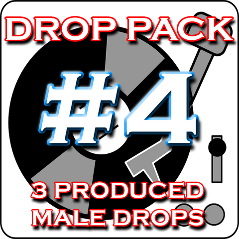 Custom DJ Drop Pack - Produced Drop Pack #4 - Fire