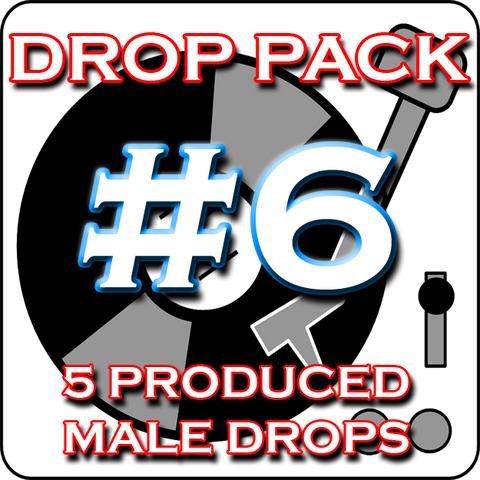 Custom Produced DJ Drop Pack - No. 1 DJ