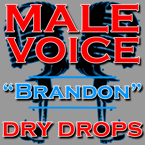 Custom DJ Drops - Male Voice, Brandon