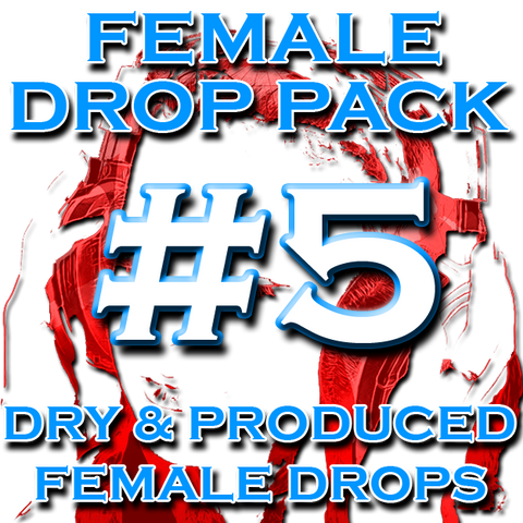 Female DJ Drops - Female Drop Pack #5