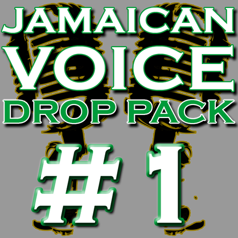 Jamaican DJ Drops Pack #1