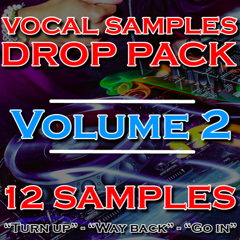 Vocal Samples DJ Drops Pack