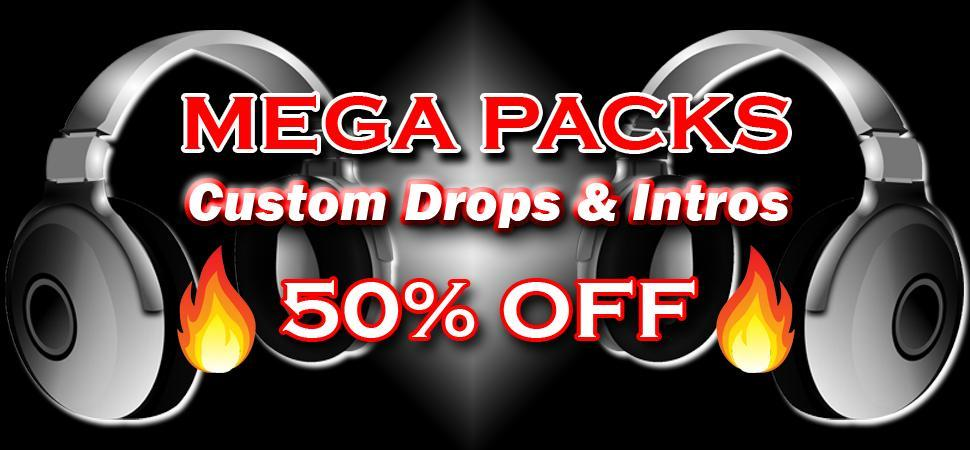 DJ Drops and Intro Mega Packs