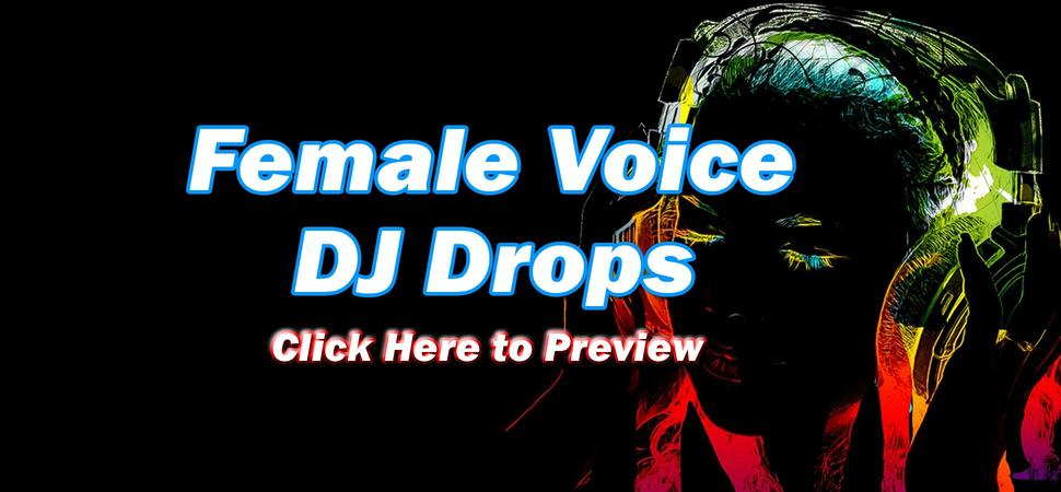 DJ Drops 24/7 - Female DJ Drops
