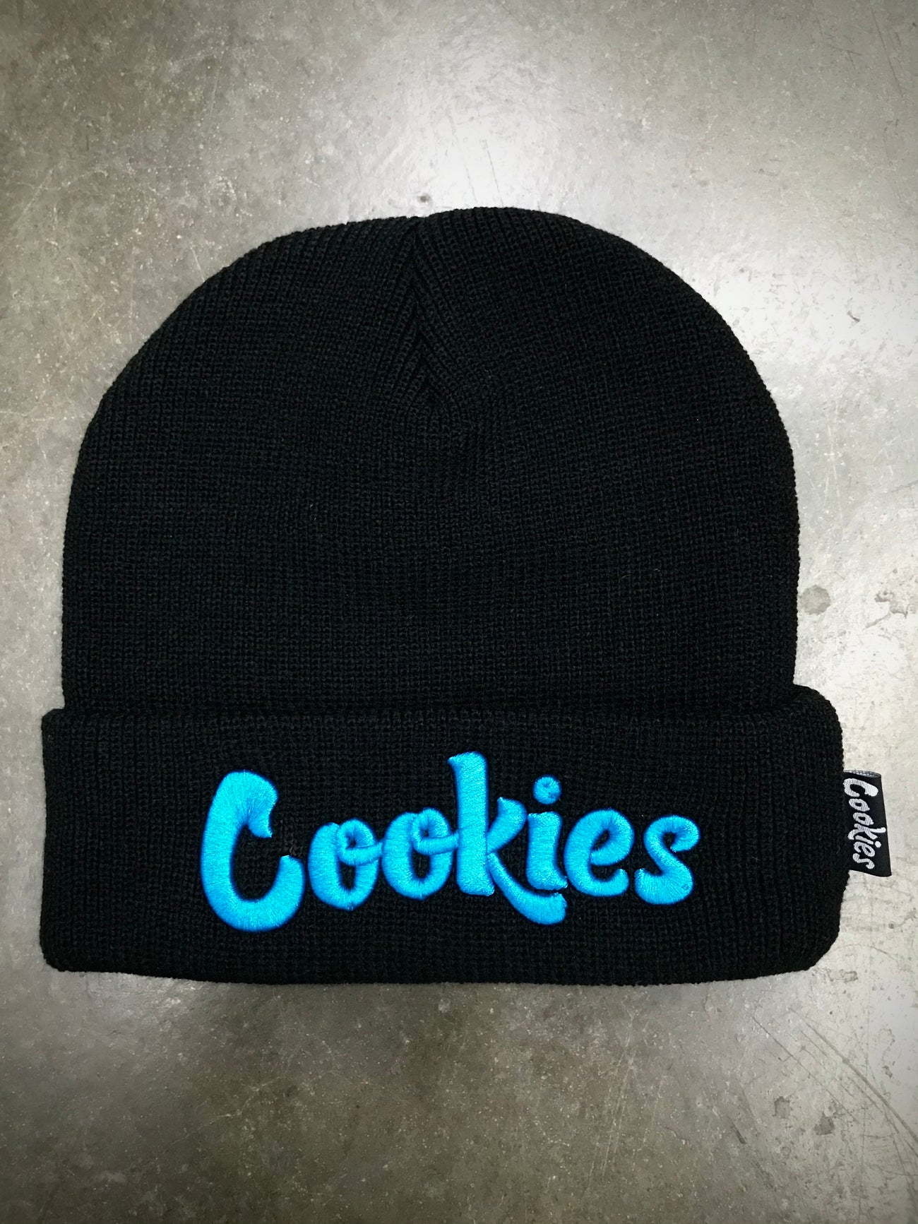 Cookies Original Mint Beanie (BLK)