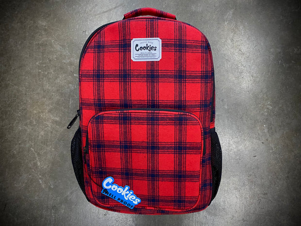 Lumberjack Flannel Backpack