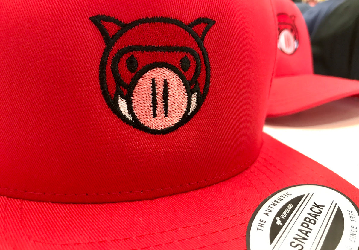 Piglo Classic Snapback (RED)