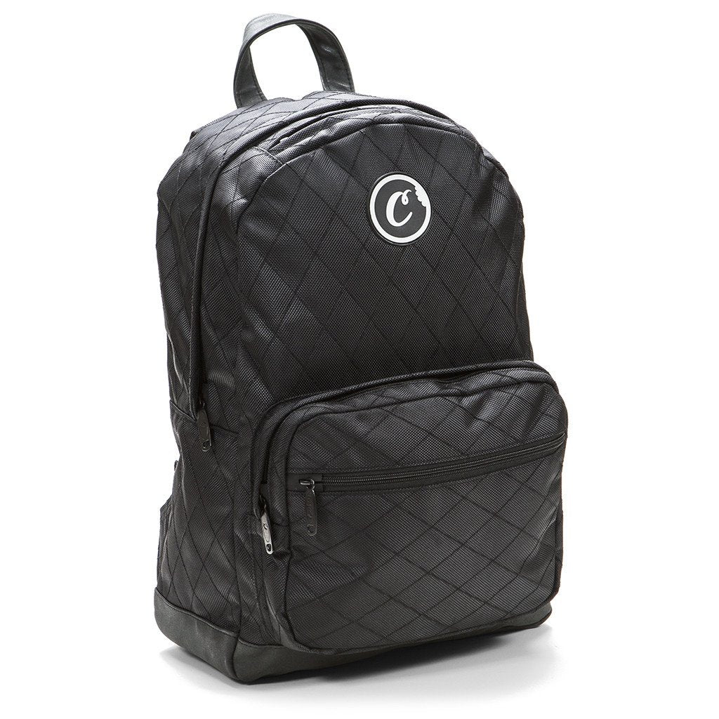 Cookies V2 Quilted Nylon Smell Proof Backpack (BLK)