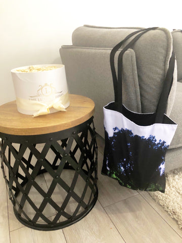 Chaumont Cotton Tote Bag - sky williams collections