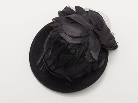 Mimi Hat Fascinator - sky williams collections