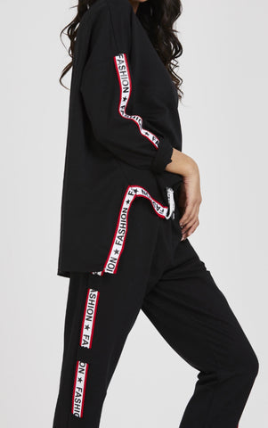 Fashion Star Tracksuit  - different colours - sky williams collections