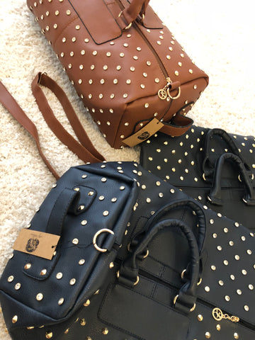 Star Studded Fashion Travel Bag - 3 colours - sky williams collections
