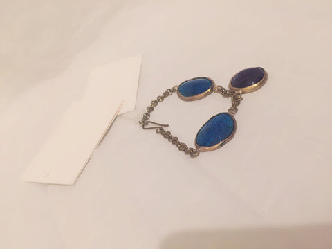 Vintage Multi - Blue Bracelet - sky williams collections