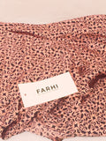 Farhi by Nicole Farhi Poppy Print Silk Scaff (Available in other colours) - sky williams collections