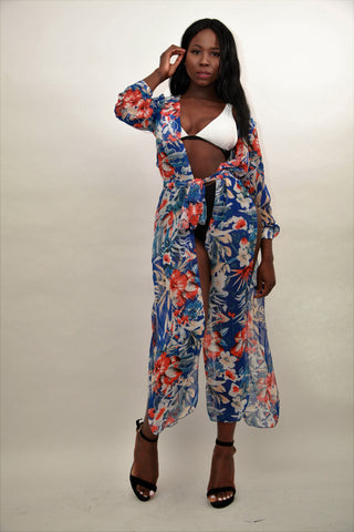 Elegant Bring Me To Life Beach Cover-up - sky williams collections