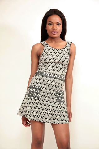 River Island Mini Arrow Dress - sky williams collections