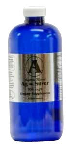 32 oz Silver Supplement by Angstrom Minerals 300 ppm
