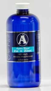 32 oz Zinc Supplement by Angstrom Minerals 500 ppm