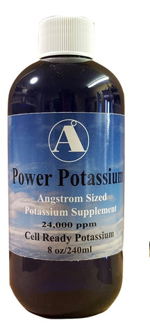 8 oz Power Potassium Supplement by Angstrom Minerals 24000 ppm