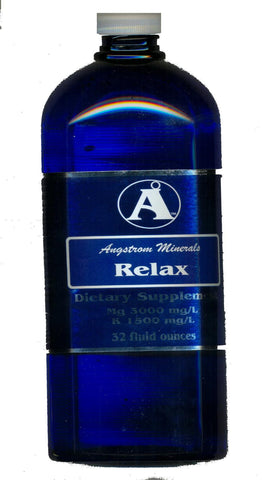 32 oz Relax Magnesium Potassium Supplement by Angstrom Minerals
