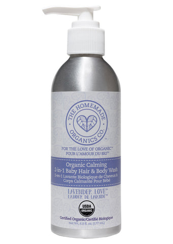 Organic Calming 2-in-1 Baby Hair & Body Wash