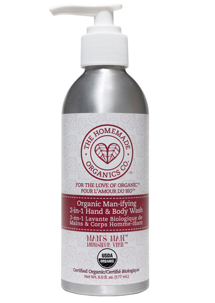 Organic Man-ifying 2-in-1 Hand & Body Wash