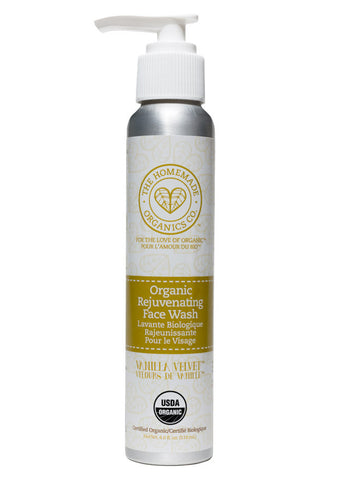 Organic Rejuvenating Face Wash